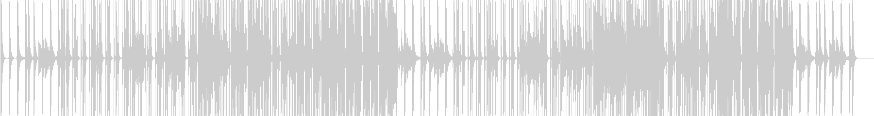 lay lowの未再生の波形