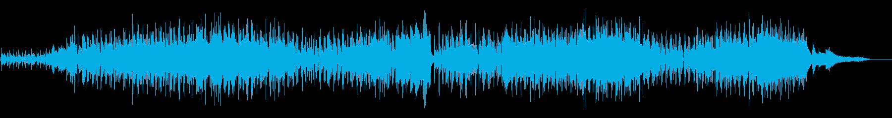 【メロなし】哀愁のボサノバ生ギターの再生済みの波形