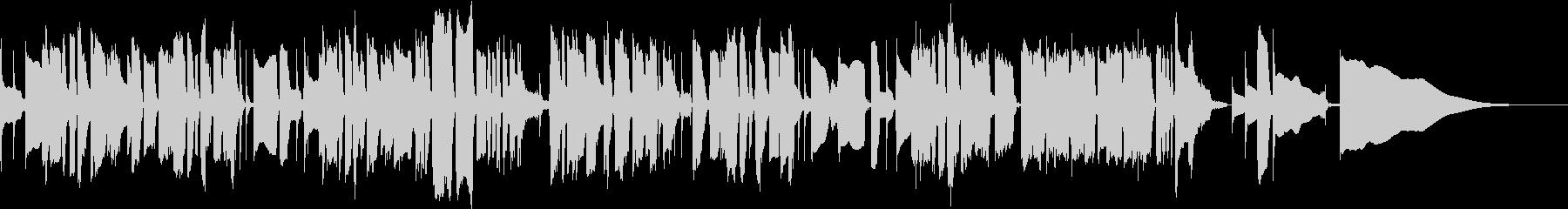 アメイジンググレイスのベース独奏の未再生の波形