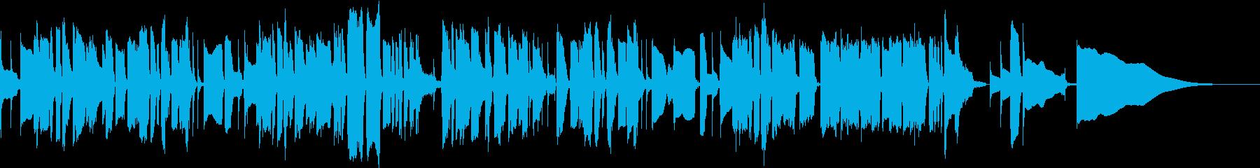 アメイジンググレイスのベース独奏の再生済みの波形
