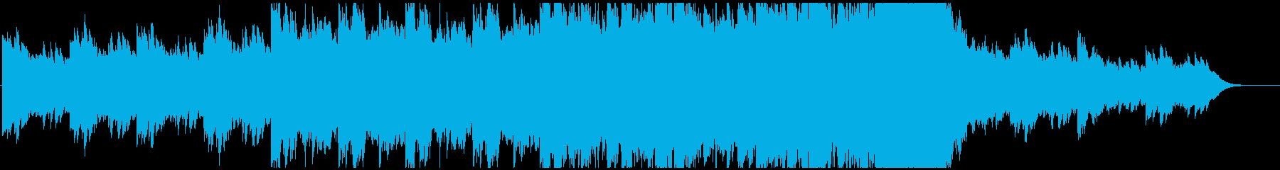 サスペンス緊迫した雰囲気・オーケストラの再生済みの波形