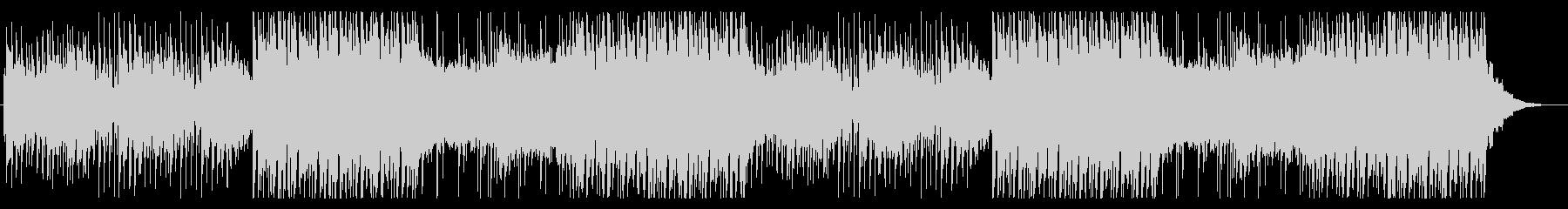 怪しく迫力のあるエレクトロポップの未再生の波形