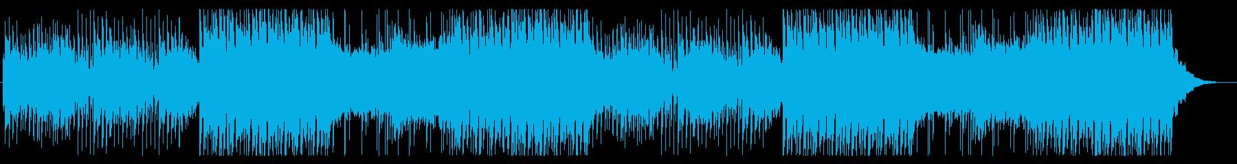 怪しく迫力のあるエレクトロポップの再生済みの波形