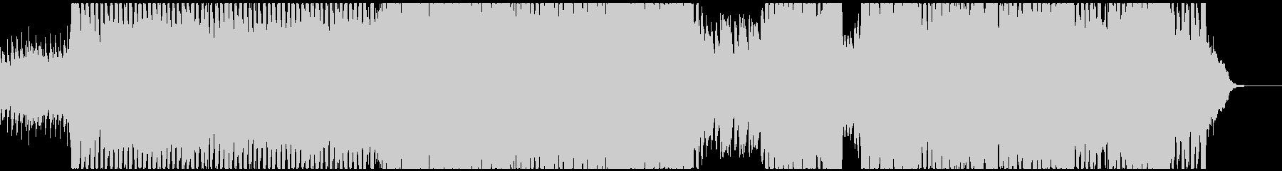 伸びやかなバイオリンが映える4つ打ちの未再生の波形