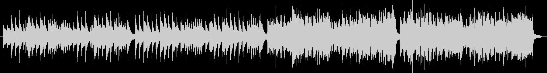 お正月の歌「一月一日」(琴,笛)の未再生の波形