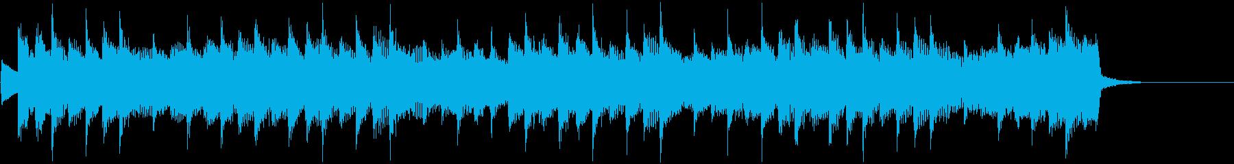 優しいジングル、CMの再生済みの波形