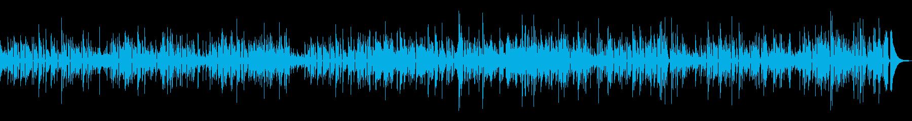 お洒落なカフェ ジャズギターDuoの再生済みの波形