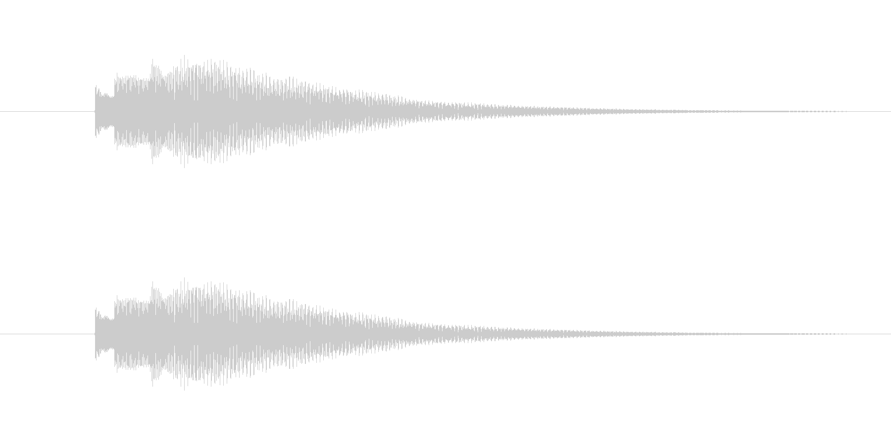 Kalimbellを使った効果音です。の未再生の波形