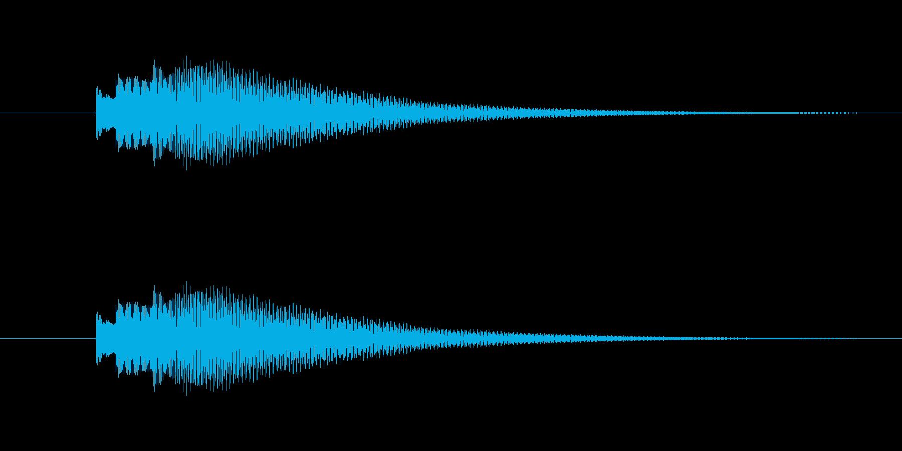Kalimbellを使った効果音です。の再生済みの波形
