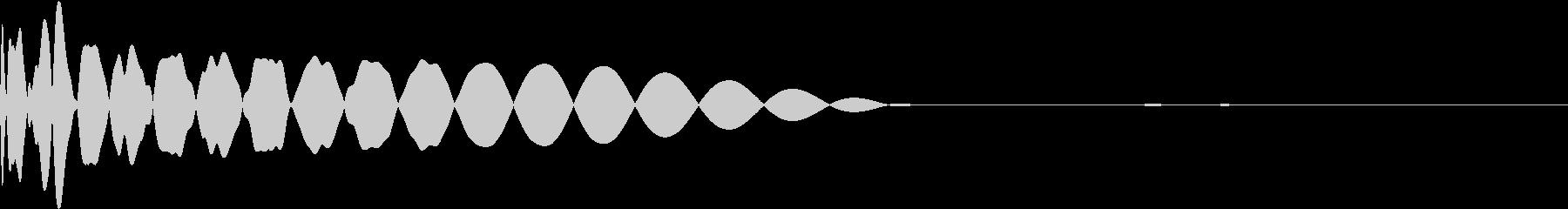 DTM Kick 35 オリジナル音源の未再生の波形