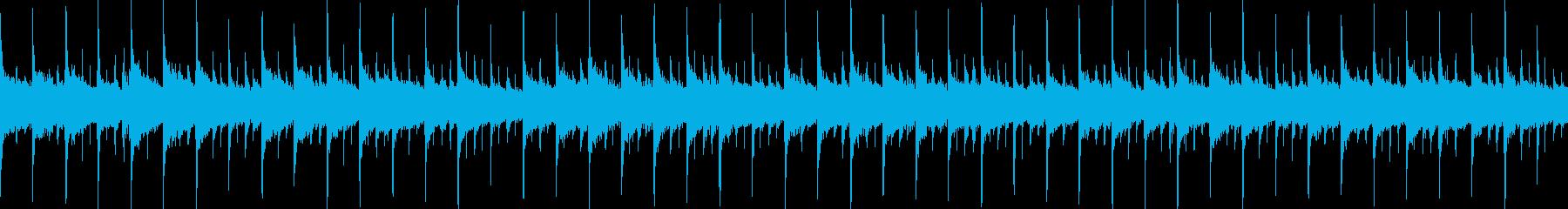 キラキラかわいい童謡アレンジの再生済みの波形