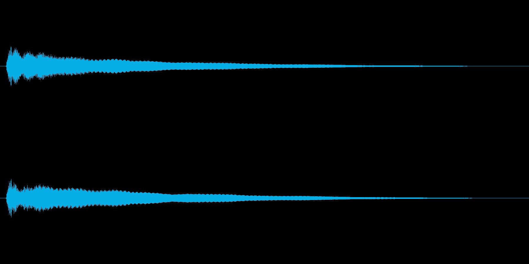 【鐘 お寺01-2】の再生済みの波形