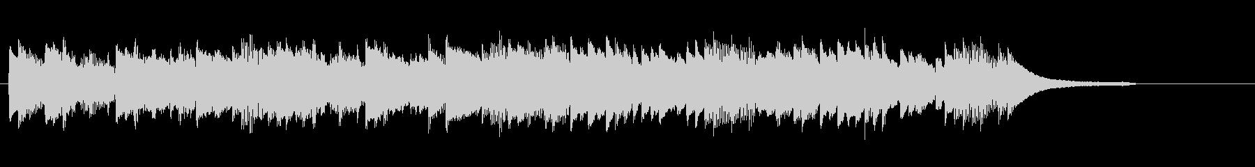 CM30秒、優しく感動的なピアノソロ15の未再生の波形