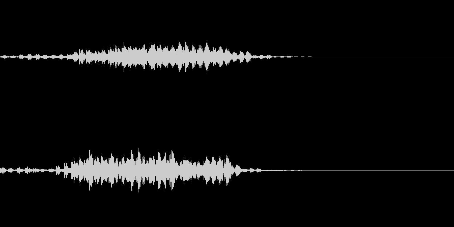 瞬間移動/回想シーン/タイムワープ Bの未再生の波形