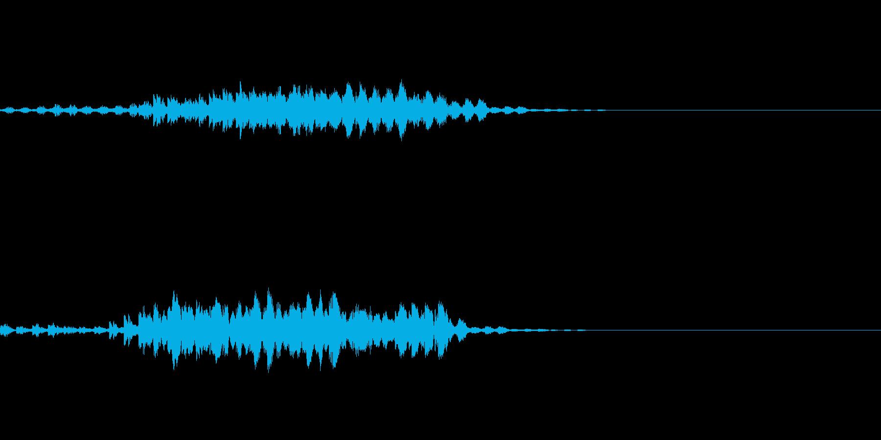 瞬間移動/回想シーン/タイムワープ Bの再生済みの波形