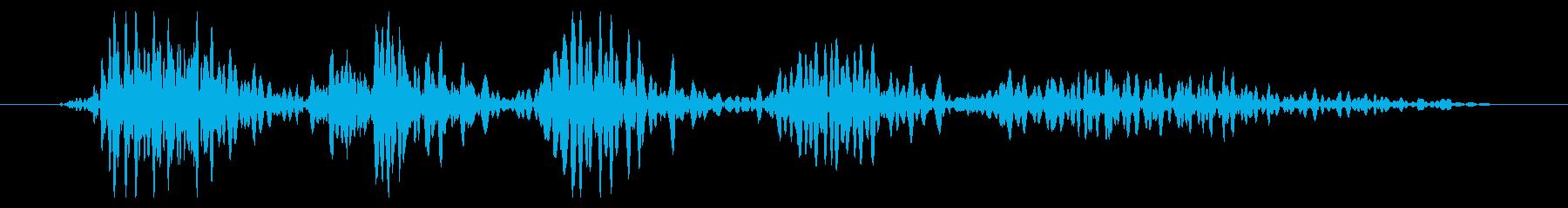 ワーム モンスター ゲーム 勝利時の再生済みの波形