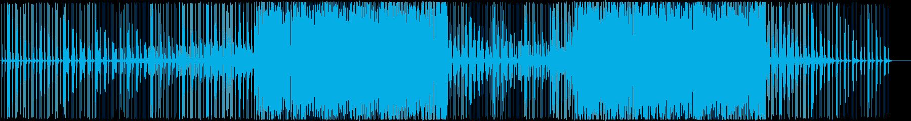 雄大-軽快穏やかシンセエレクトロの再生済みの波形