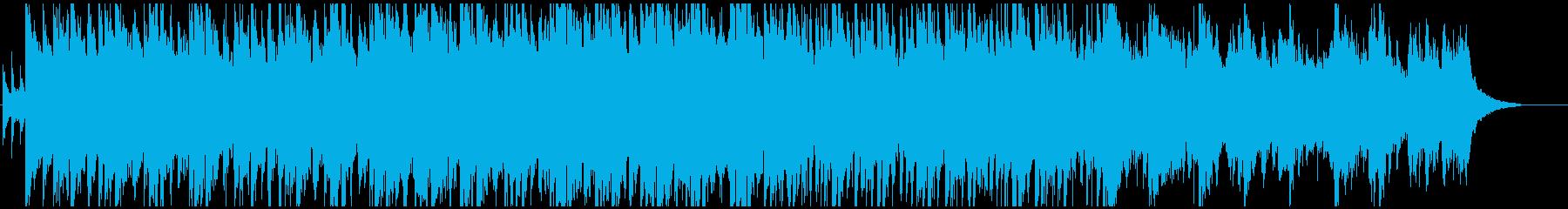 青空のように爽やかなオケ 企業VP・CMの再生済みの波形