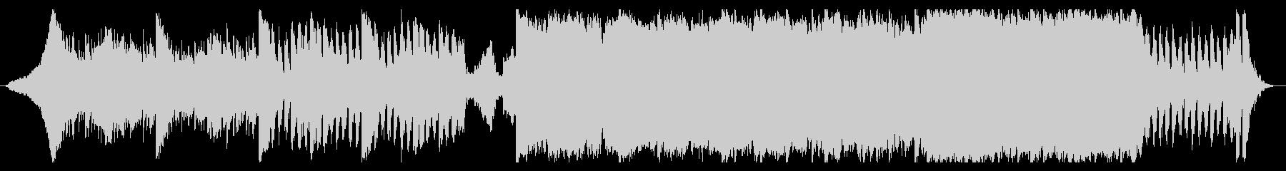 少し怪しさのあるロック-60秒Verの未再生の波形