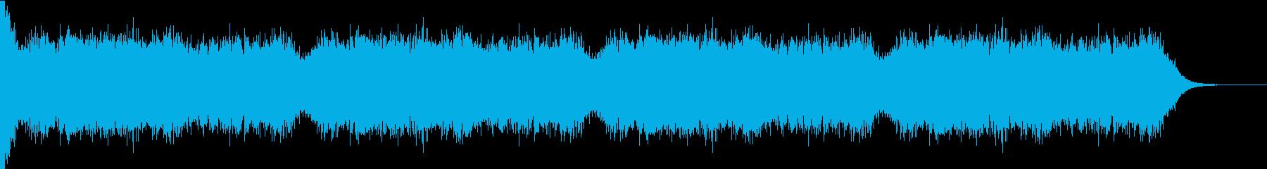 衝撃 ミステリアス ホラー アンビエントの再生済みの波形