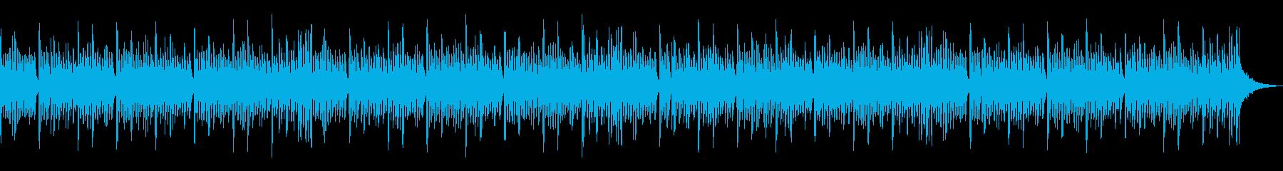科学研究所のテーマの再生済みの波形