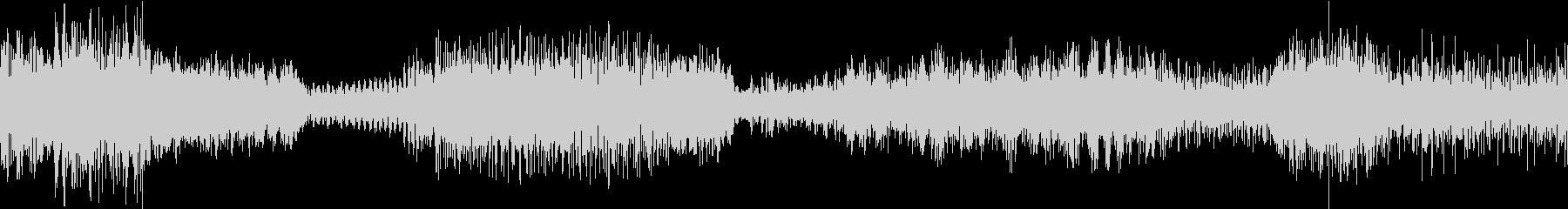 ドラマティックスペースストームの未再生の波形