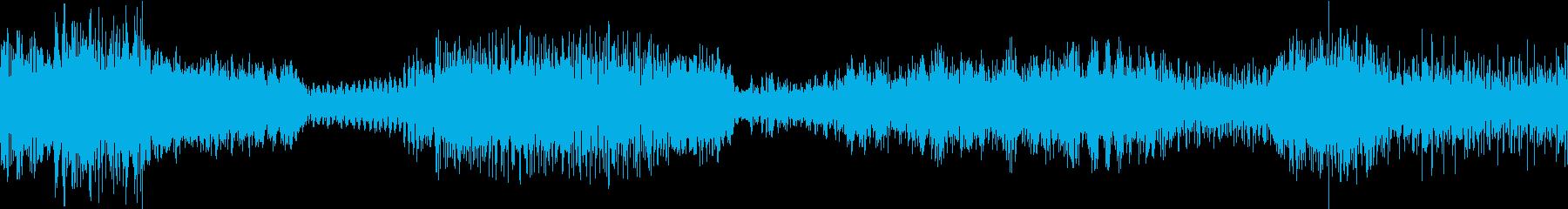 ドラマティックスペースストームの再生済みの波形