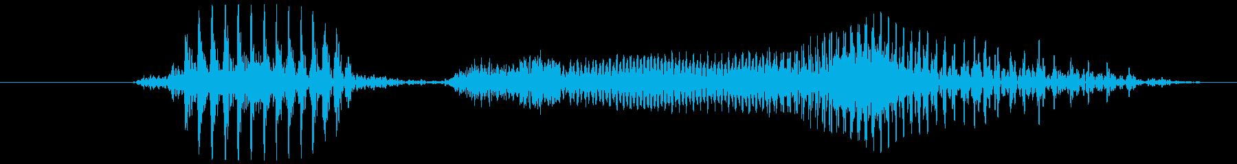 月曜の再生済みの波形