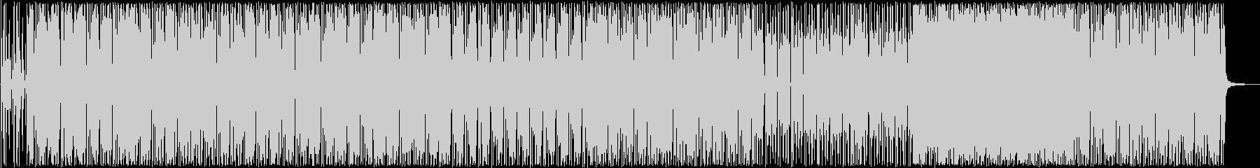 ファンキーなギター・ドラムサウンドの未再生の波形