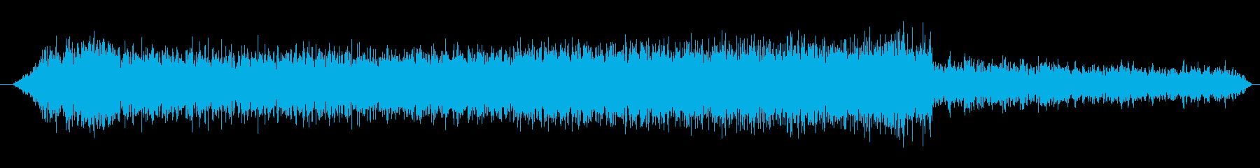 トラック ウラル4320低速加速ア...の再生済みの波形