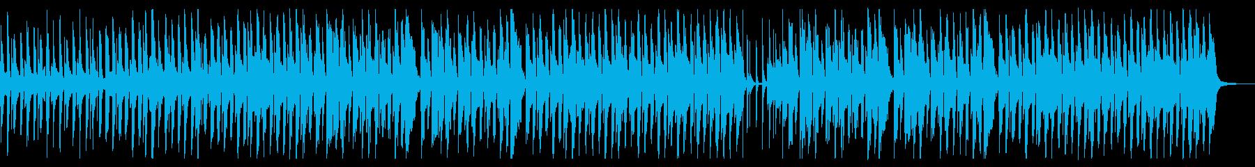 口笛がメインの明るく休日っぽいフォークの再生済みの波形