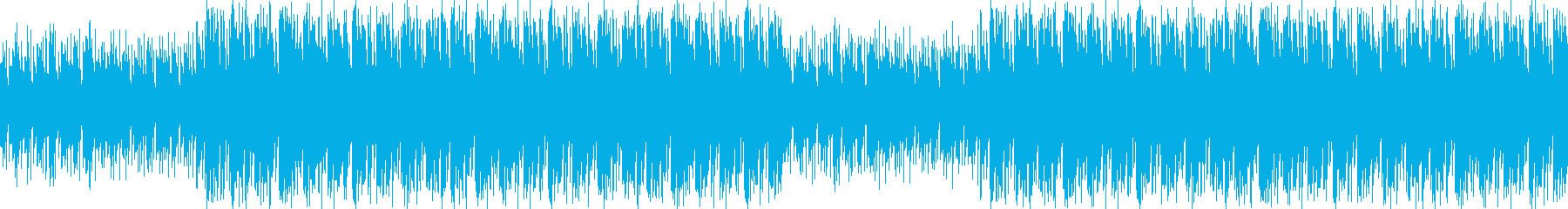 スタイリッシュな和風ミュージックの再生済みの波形