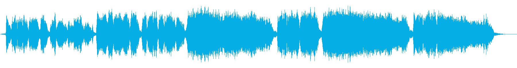 Jazzyなハーモニーのクリスマスソングの再生済みの波形