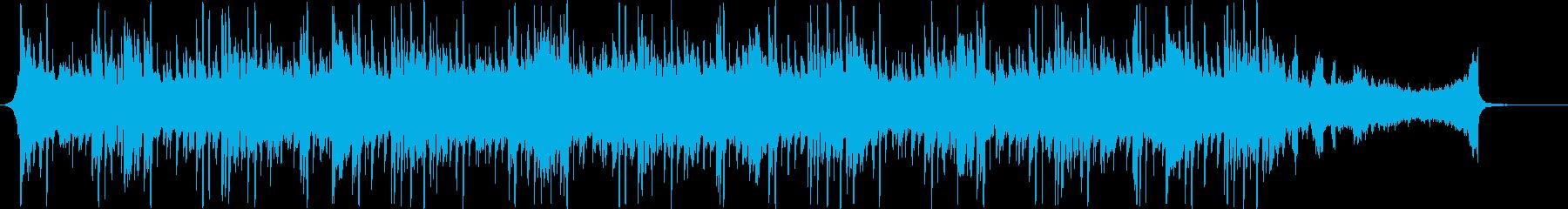 企業CMプレゼンなどシンプルBGM60秒の再生済みの波形