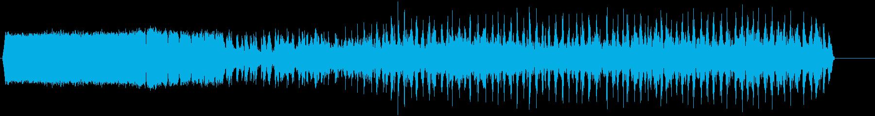 電気アーク2;脈動Zapsへの着実な変化の再生済みの波形
