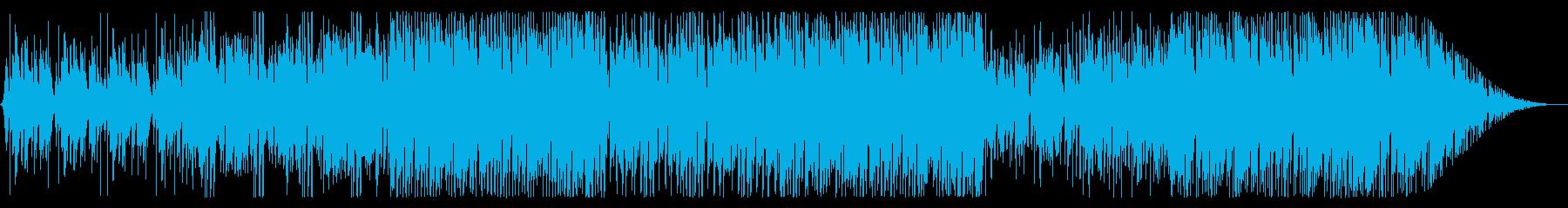 キュート&ポップでエモいEDMの再生済みの波形