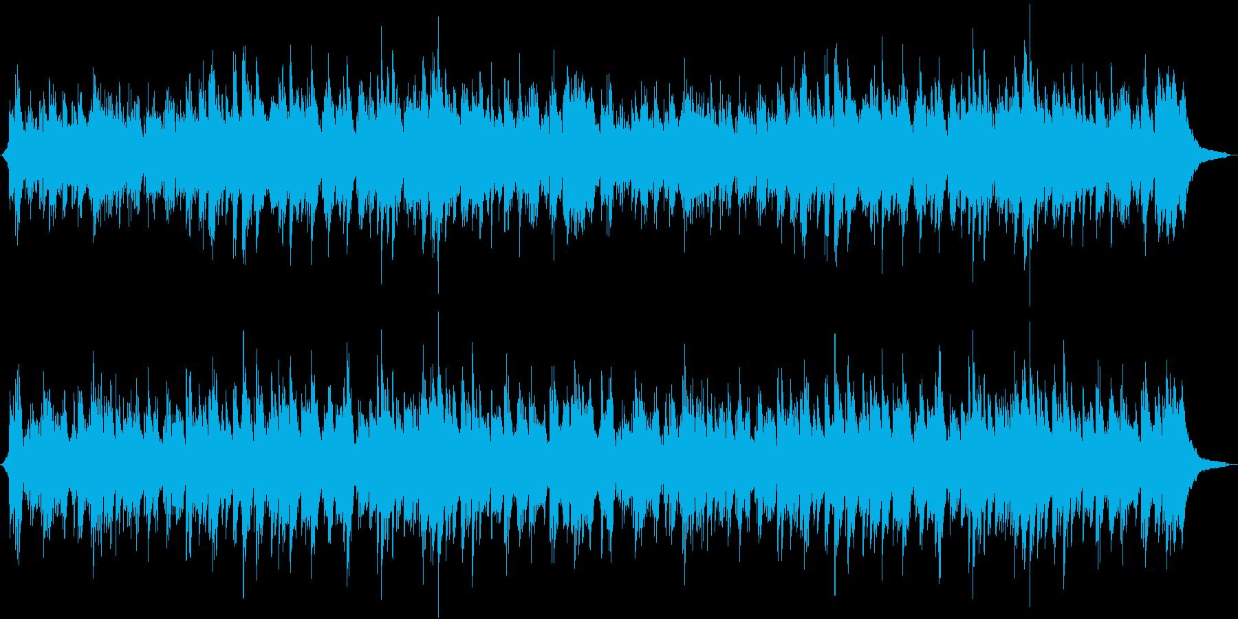 やさしいゆったりとした3拍子のピアノソロの再生済みの波形