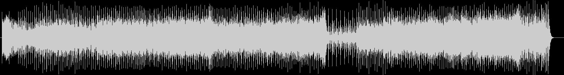 ダークで物悲しいミュージックの未再生の波形