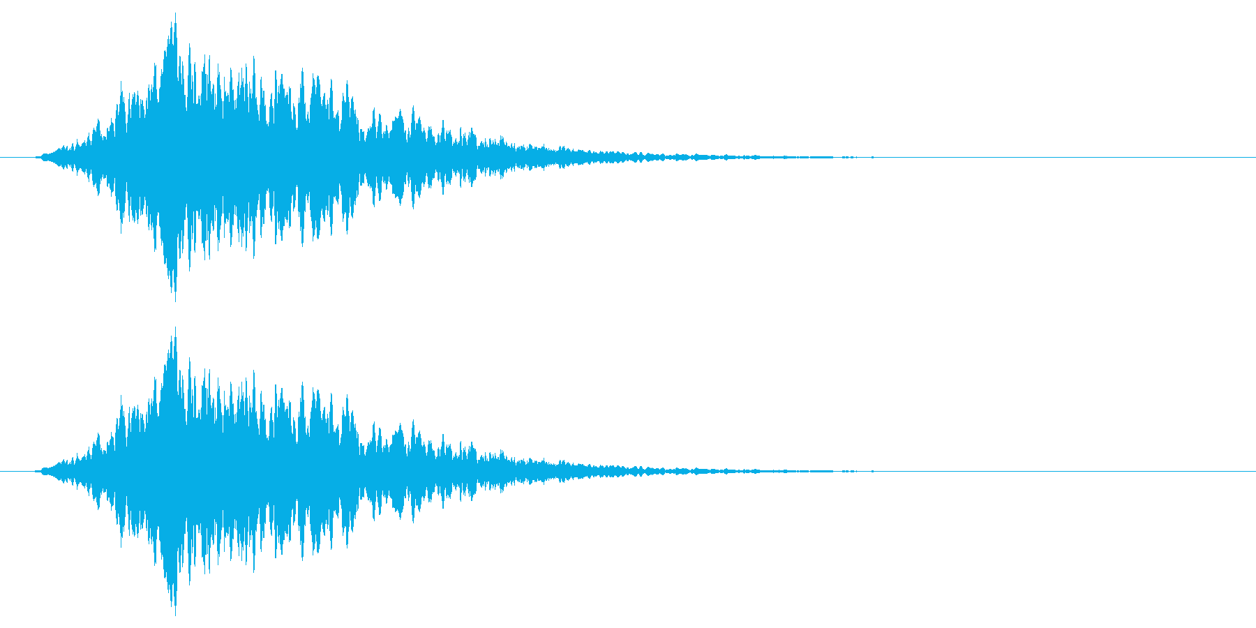 自然の神秘(神聖的な遠吠え)の再生済みの波形