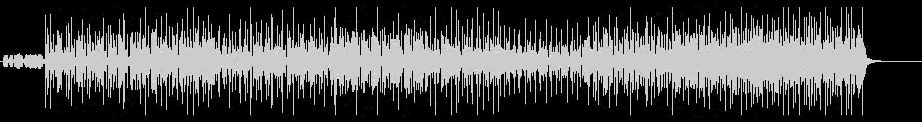 ジングルベル 和テイストの未再生の波形
