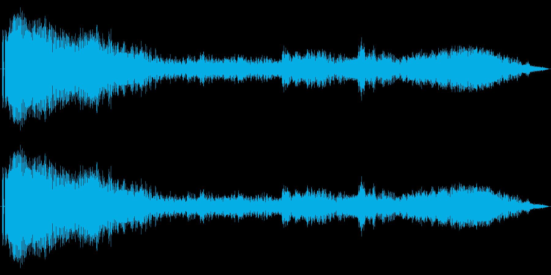 【レース】車のシフトダウン効果音!02の再生済みの波形