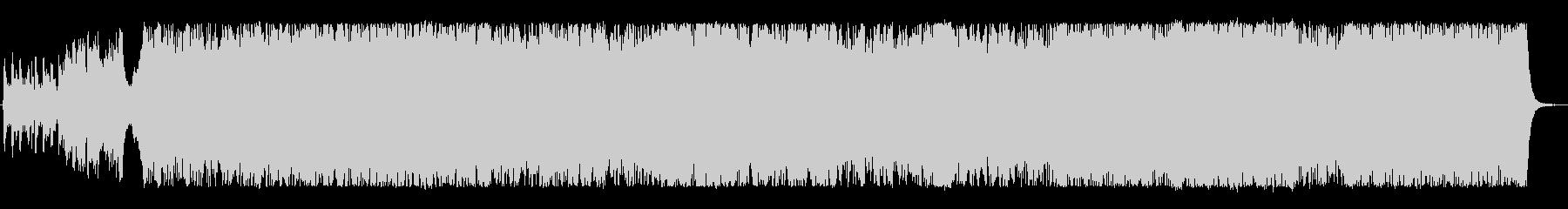 壮大なケルト 民族音楽の未再生の波形