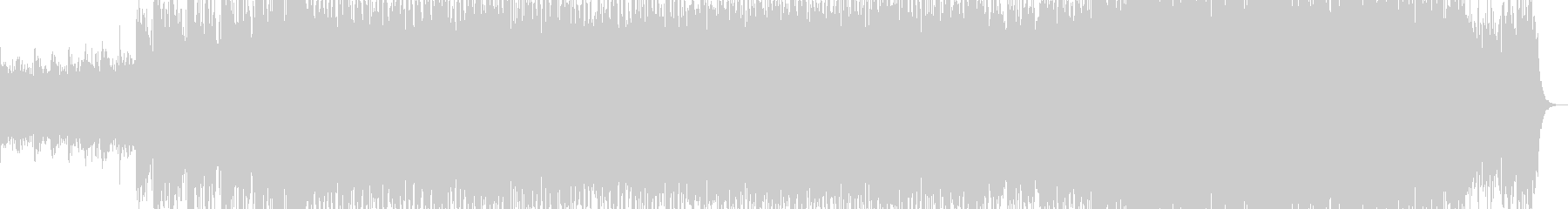 ロック的なドラムンベースの未再生の波形