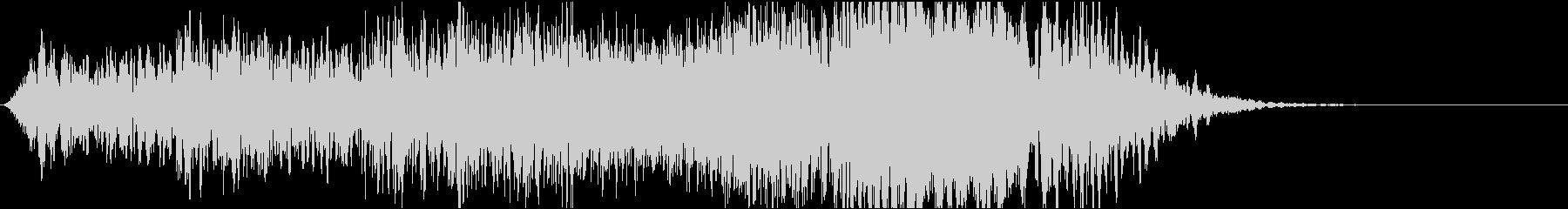 ホラー系効果音02の未再生の波形