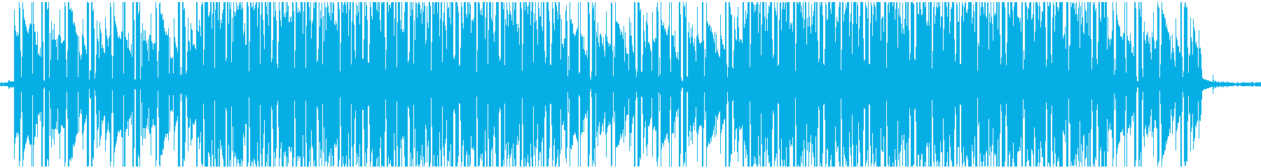 優しい雰囲気のローファイヒップホップの再生済みの波形