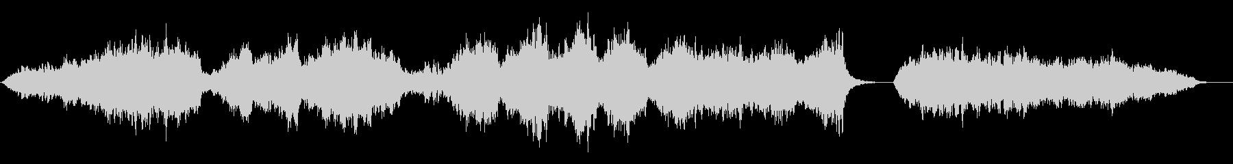 ストリングス(弦楽器)の穏やかなBGMの未再生の波形