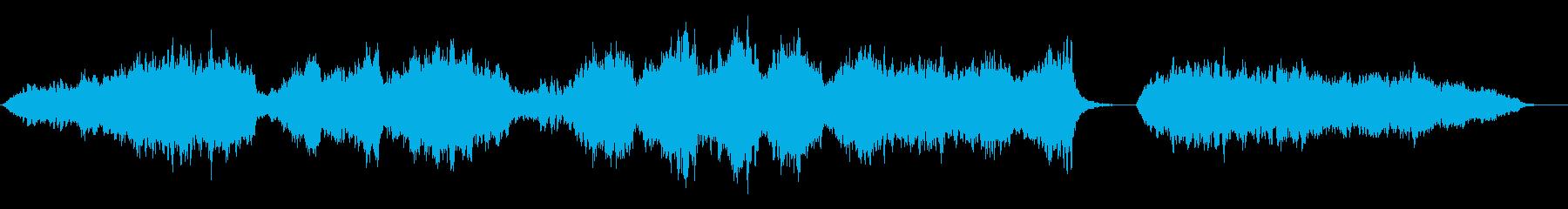 ストリングス(弦楽器)の穏やかなBGMの再生済みの波形