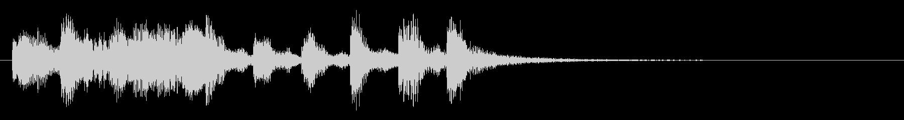のほほんジングル032_おっとり-3の未再生の波形
