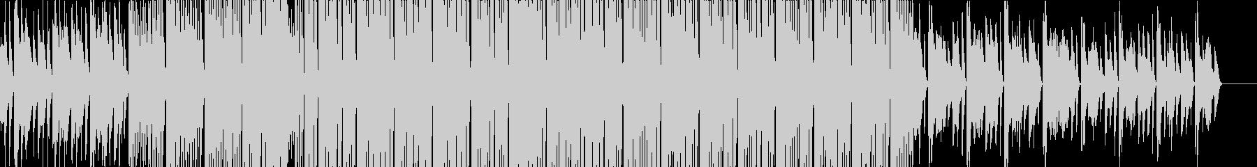 明るく元気なFuture Bassの未再生の波形
