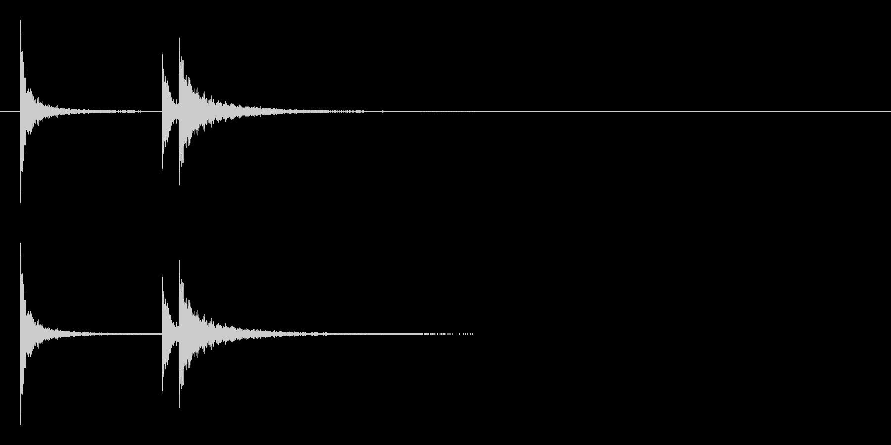 ホラー サスペンスなどの効果音に最適10の未再生の波形